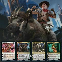 MTG Secret Lair Summer Superdrop With FETCH and 5 STAINED GLASS PLANESWALKERS
