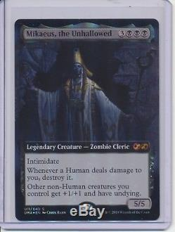 MTG Ultimate Masters x12 Box Topper Foil Karn / Dark Depths / Cavern of Souls