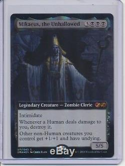 MTG Ultimate Masters x13 Box Topper Foil Karn / Dark Depths / Cavern of Souls