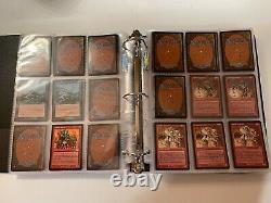 MTG Urza's Saga 502 Cards 4x Playset Incomplete New Binder & Sleeves