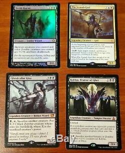 MTG Zombies Lot (40+) Gisa, Kalitas Traitor, Scarab God, Death Baron Foil++