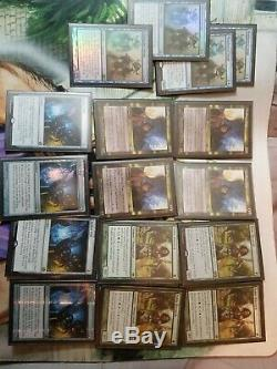 Magic Full Deck! Modern Humans MTG cavern of souls Foils Expeditions! Complete