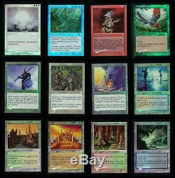 Magic MTG 7th Edition Complete 350-Card Set FOIL SLIGHT PLAY (SP) on average