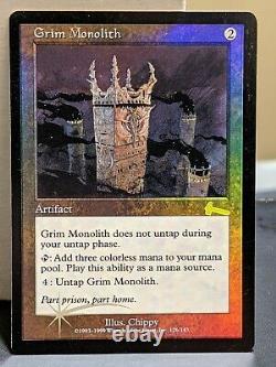 Magic MTG Grim Monolith Foil Urzas Legacy LP