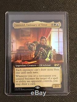 Magic MTG UMA Ultimate Box Topper Promo Foil Leovold, Emissary Of Trest Rare