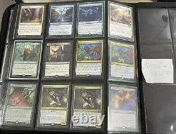 Magic The Gathering Binder Entire Collection Rares Mythics Foils Full Expedition