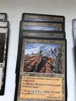 Magic The Gathering Goblin Deck Legacy/Modern Lackey Instigator Foil Wasteland