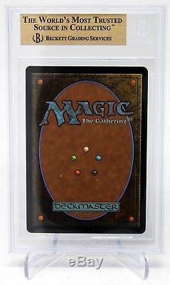 Magic The Gathering Mtg Jace The Mind Sculptor Foil Worldwake Bgs 9.5