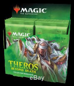 Magic The Gathering Theros Beyond Death Collector Booster Box (Factory Sealed)