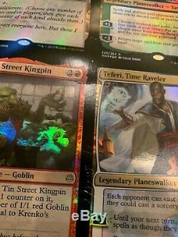Magic The Gathering Uncut Foil Sheet Mythic & Rare War Of The Spark MTG FLAWS