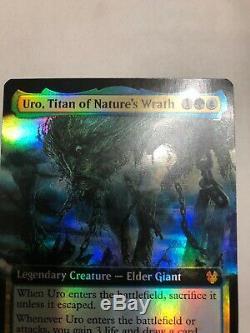 Magic Uro, Titans Of Natures Wrath Full Art Foil