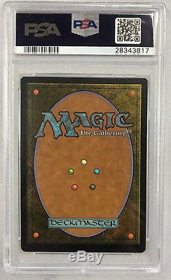 Magic the Gathering FORCE OF WILL AMONKHET INVOCATIONS Foil PSA 10 GEM MT