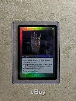Magic the Gathering Grim Monolith FOIL (NM) Urza's Legacy