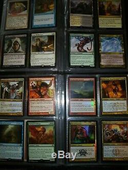 Magic the Gatherings 2 binders Rares/Foils/Mythics++ MTG Lot