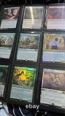 Magic the gathering MTG lot! Includes binder! Includes mythic and rare! Foil too