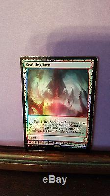 Magic the gathering/Scalding Tarn foil Mint condition, kept in collector's book