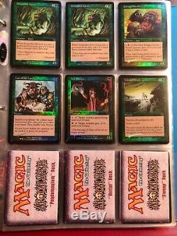 Magic the gathering collection APOCALYPSE Binder MTG LOT With Rares FOIL Cards APC