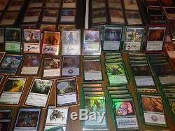 Magic the gathering collection old and recent sets lots of foils and signed