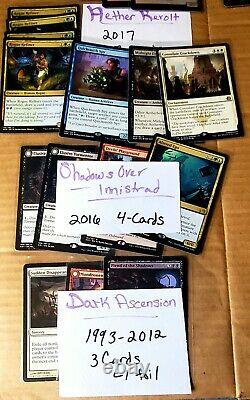 Magic the gathering lot of 250+ cards. Random, Alphabetized MP-NM! See pics
