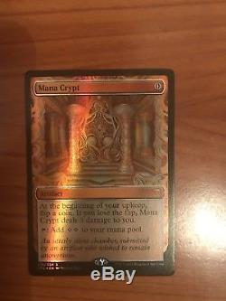 Mana Crypt FOIL Kaladesh Inventions, Masterpiece, M/NM+, MTG, EDH