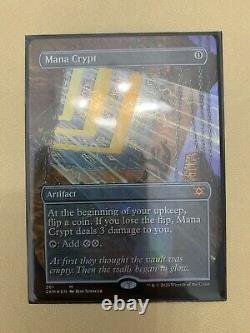 Mana Crypt MYTHIC RARE FOIL EXTENDED ART Double Masters NM/M MTG WOTC