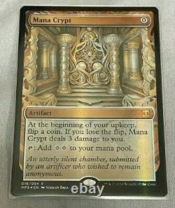 Mana Crypt masterpiece Foil Kaladesh Inventions Mtg Magic NM