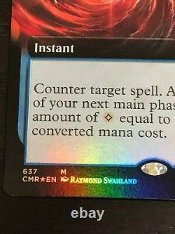 Mana Drain Foil Extended Art NEAR MINT MTG Commander Legends 637 CMR