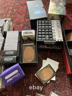Massive Magic the gathering collection! Lot of cards! Need More Info