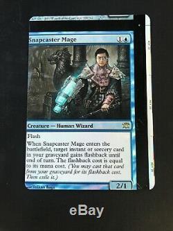 Misprinted Foil Snapcaster mage Innistrad NFC