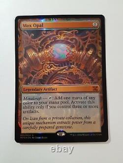 Mox Opal FOIL Kaladesh Invention (Magic/mtg) Masterpiece Series