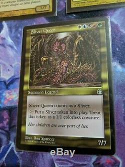 MtG EDH Sliver Lot Sliver Queen & Foil Sliver Legion & Foil Sliver Overlord LP
