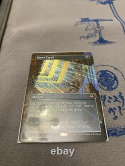 Mtg Double Masters Mana Crypt Full Art Foil Box Topper