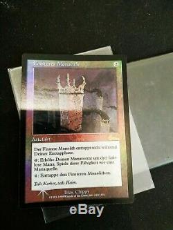 Mtg FOIL Grim Monolith GERMAN NM Magic