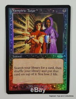 Mtg Foil Vampiric Tutor x1 Judge Promo (2000) Magic the Gathering NM