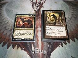 Mtg Full EDH Deck The First Sliver Tribal Lots of Rares/Mythic/Foils