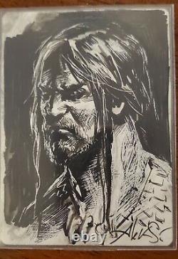 Mtg Sarkhan Unbroken Foil Artist Proof AP Signed Sketched
