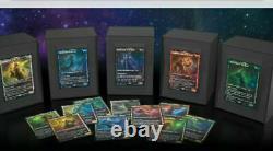 Mtg Set of Theros Secret Lair Bundle Stargazing Foil Gods All 15! N/M NO WARP
