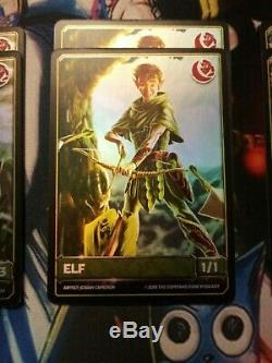 Naruto Tcg/CCG 22 premium foil The Command Zone Game Knights tokens NM
