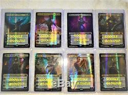New Guilds Of Ravnica Mythic Edition Master Piece Foil Set