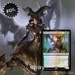 PREORDER 1 x Phyrexian Praetors Compleat Edition FOIL Magic the Gathering