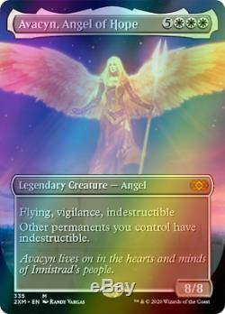 PREORDER Avacyn, Angel of Hope, SHOWCASE FOIL, Double Masters, MTG, NM/M
