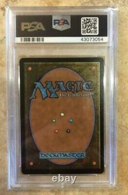 PSA 10 KARN LIBERATED Foil MTG Ultimate Masters, English