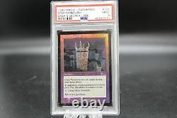 PSA 9 MINT 1999 Magic the Gathering MTG Grim Monolith Urza's Legacy Foil #126