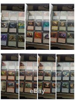 Personal Magic The Gathering Collection Foils mythics Rares tokens. Nobulkjunk