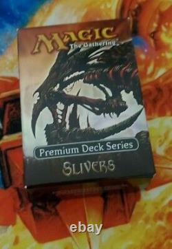 Premium Deck Series Slivers All Foil complete set Magic the Gathering MTG