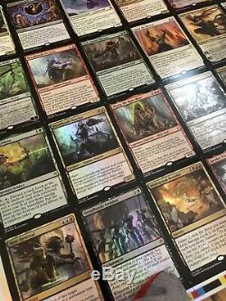 RARE Magic The Gathering War of the Spark Mythic Foil Sheet Uncut