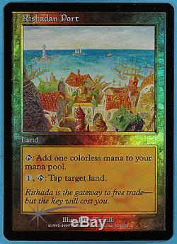 Rishadan Port Mercadian Masques FOIL NM-M MTG MAGIC CARD (ID# 22431)