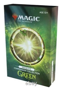 SEALED BOX MTG Commander Collection Green Premium Foil PREORDER (Ships Dec10-12)