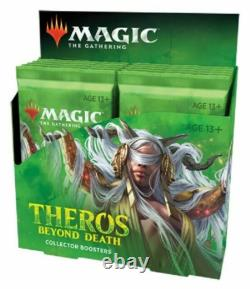 Sealed Theros Beyond Death Collector Booster Box 12 Packs MTG Magic Cards