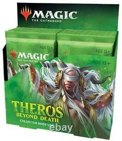 Sealed Theros Beyond Death Collector Booster Box Case (6 Boxes, 72 Packs)